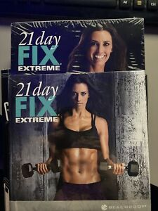 New Autumn Calabrese 21 Day Fix Extreme DVD set and Eating Plan Book Sealed