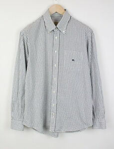 BURBERRY LONDON NEW DERBY Men's (US) 44 or ~X LARGE Checked Shirt 41216_ES