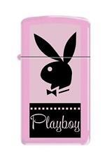 Zippo 7824 playboy bunny logo slim RARE & DISCONTINUED Lighter