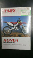 New Clymer Honda Service Manual Cr125R 1998-2002  M464