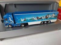 DAF 95 SSC  André Koller Trucking / Blue Saloon SCHWEIZ  Kühlkoffer  Exclusiv
