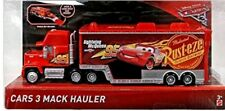 Cars 3 Mack Hauler camion Dinoco Mattel Disney Pixar saetta dinoco