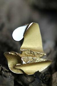 Vintage Lapponia Brooch Pendant Brooch Weckstroem Gold 585 Pin