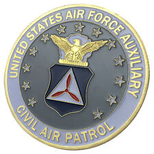 USAF AUXILIARY / CIVIL AIR PATROL 24kt GP Challenge coin 1162#