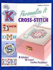 Cross Stitch Patterns Alphabet Monograms Personalise It