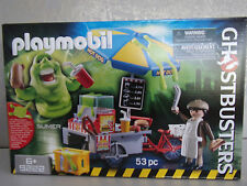 Playmobil Ghostbusters 9222 Slimer et Hot Dog Stand - neuf emballage d'origine