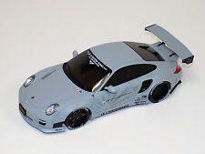 "1/18 GT Spirit Porsche 911 "" 997 "" Liberty Walk in Matte Grey GT126"
