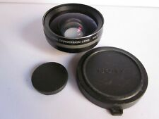 Sony 0.7X VCL-HG0730A Digital Wide Angle Conversion Lens w Caps
