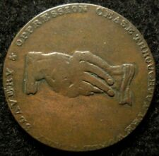 1795 Prince of Wales Anti-Slavery Conder Token CHOICE