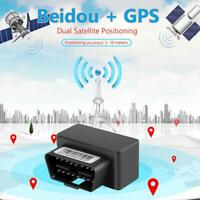 OBD II GPS Tracker Real Time Auto Vehicle Tracking Device OBD2 For Car Locating
