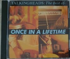 TALKING HEADS - The Best Of / Once In A Lifetime CD Cat No. 7805932
