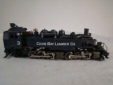 HO Mantua Steam Logging Locomotive - custom weathered - 2-6-6-2 Mallet