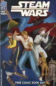 Steam Wars Free Comic Book Day #1 FN 2014 Stock Image