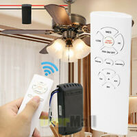Wireless Timing Remote Control Receiver Universal Ceiling Fan Lamp Light Kit