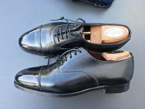 CROCKETT & JONES Oxford Audley UK 7,5 black Handgrade (CJ Last 337 42)