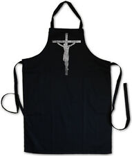 Jesus Cross Barbecue Bbq Cooking Kitchen Apron Christ Jesus Messiah Christianity
