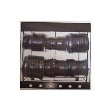 Présentoir en acier de 6 rouleaux différents de durites universelles
