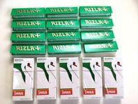 600 Rizla Verde Cartine (12 Libretti x 50) e 600 Swan Mentolo Filtri (5 Scatole)