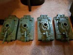 4 Vintage 1982 G.I. Joe MOBAT Motorized Battle Tanks