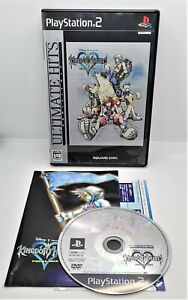 Kingdom Hearts: Final Mix Game for Sony PlayStation PS2 JAPANESE TESTED 66123