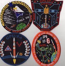 Original USAF 45SW CCAFS GPS II F-2, F-6, F-8, F-9 Launch Patch Set - 4pcs Mix