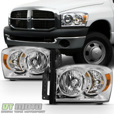 2006-2008 Dodge Ram 1500 07-09 2500 3500 Headlights Replacement Lamps Left+Right