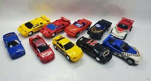 Vtg Lot of 10 ARTIN 1/43 Slot Cars Lamborghini/Firebird/Corvette/Mustang/Monte..
