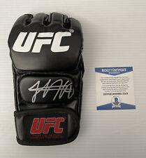 Khabib Nurmagomedov Signed Autographed UFC Glove BECKETT BAS COA 17