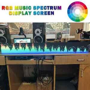 160 Modi Full RGB  Musikspektrum Anzeige Screen KTV LED Rhythmus-Fernbedienung