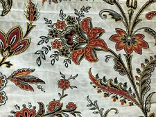 Antique French Floral Fabric Circa 1850-70