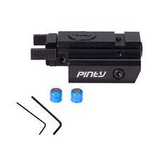 Mini Red Dot Laser Sight w Free Standard 20mm Weaver Mount Rails New.