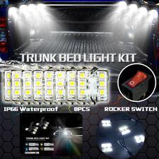White 48LED Truck Bed/Rear Work Box Lighting Kit Trunk Light For Ford GMC Pickup