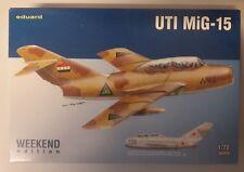 MAQUETTE MODEL KIT 1/72 UTI MIG-15 WEEKEND EDITION EDUARD