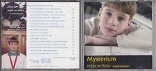 JELJER TE WIES Mysterium CD  DUTCH BOY SOPRANO BOYSOUND HOLLAND