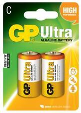 GP 656.015 1.5V Specially Formulated C Type Ultra Alkaline Batteries - Multi