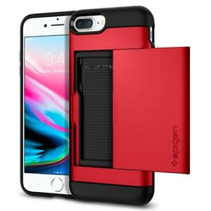 Spigen iPhone 8 Plus / 7 Plus Case Slim Armor CS Red