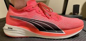 PUMA Deviate Nitro Running Shoe Size 11.5 carbon racer