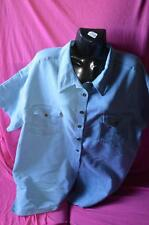 ladies preowned shirt  by katies.size 18 colour blue