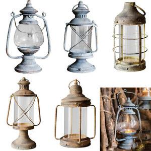 Candle Holder Hanging Iron Candlestick Outdoor Decorative Portable Lantern