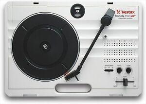 Vestax Handytrax USB Tragbar Turntable Weiß F/S Von Japan Gebraucht
