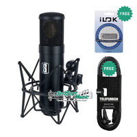 Slate ML-1 Modeling Microphone Matte Black + iLok3 + Telefunken Mic XLR Cable