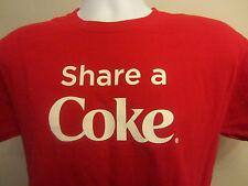 Coca Cola Share A Coke T Shirt Men's Medium........f