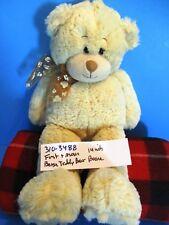 First and Main Boone the Beige Teddy Bear beanbag plush(310-3488)
