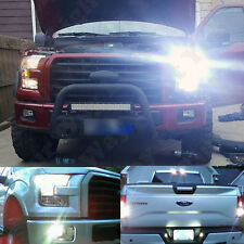 12 x 6000k White Exterior Combo LED Light Bulbs Kit For 2015 2016 2017 F150