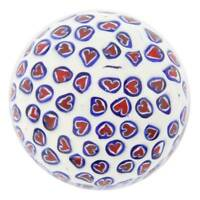 GlassOfVenice Murano Glass Millefiori Round Paperweight - Small - 2 Inches