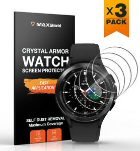 3X Fr Galaxy Watch 3 4 Classic 40 42 44 46 41 45 Tempered Glass Screen Protector