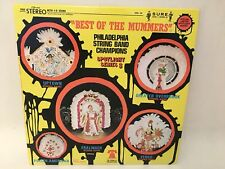Best Of The Mummers Philadelphia String Band Champions Vinyl LP Record Spotlight