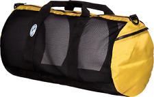 """Stahlsac 22"""" Mesh Duffel Bag - Yellow"""