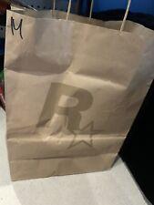 *** *** Raro bolsa de papel Rockstar Games
