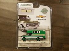 Greenlight 1:64 1972 Chevrolet Cheyenne C10 With Large Camper 29921 Chase Car